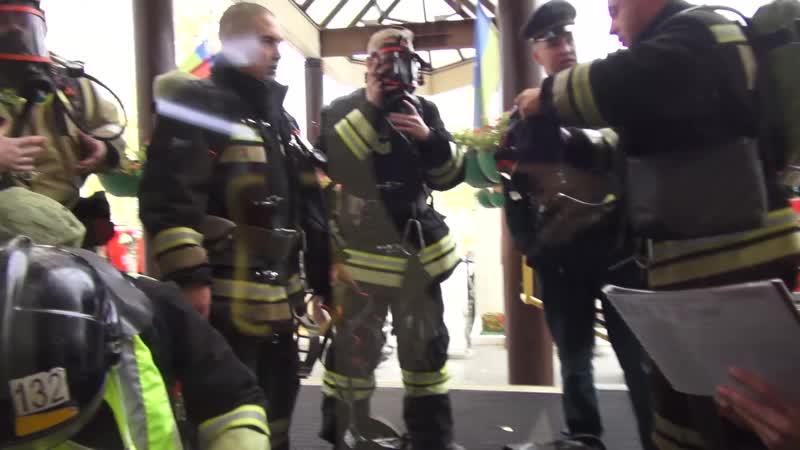 Учебная пожарная тревога 05.10.2018