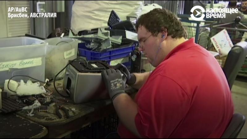 Безработные делают из мусора технику