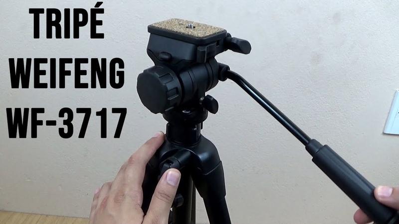 Tripé Weifeng WF-3717 - Unboxing e primeiras impressões