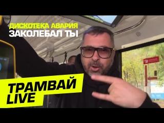 Дискотека Авария | Заколебал Ты | Трамвай Live