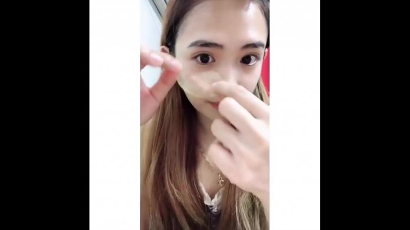 Elizavecca Milky Piggy Hell-pore Gold Hyaluronic acid eyepatch Глазная повязка с гиалуроновой кислотой