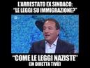 EX SINDACO DI RIACE IN DIRETTA TV: LEGGI ITALIANE SU IMMIGRAZIONE? NAZISTE