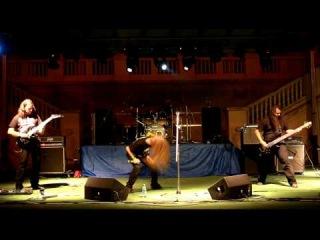 Kistvaen - Djävulens Ande (Ondskapt cover) [live at Metal Crush Party 07.10.2012]