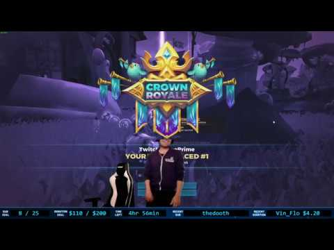 ANYTHING YOU CAN DO I CAN DO BETTER. CrownRoyale @RealmRoyale