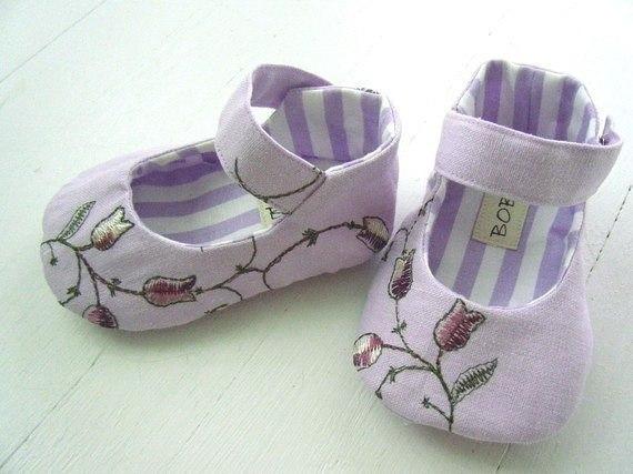 Сшить туфельки для малышки 13