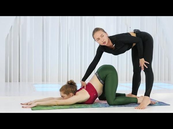 Попробуй эту тренировку! 30 минут растяжки на все тело.