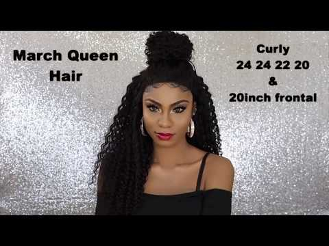 This Amazing Curly Hair Styling Ft MarchQueen Brazilian Curly Hair