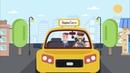 Рекламный ролик Яндекс Такси. Инфографика в рекламном ролике.