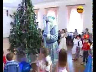 Актеры театра «Бенефис» подготовили для детей новогоднее представление