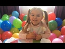 Воздушные шарики, ищем сюрпризы Маша и Медведь, Hello Kitty, киндер сюрпризы, играем в шарики