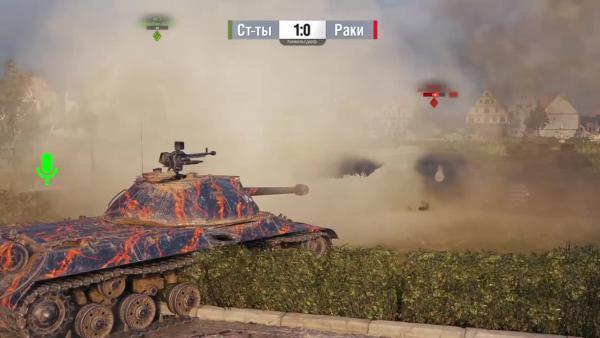 World of Tanks Ракомахач 6 Статисты против Раков