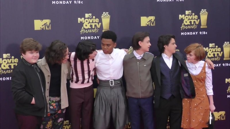 IT Cast at the 2018 MTV Movie And TV Awards at Barker Hangar in Santa Monica