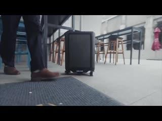 Электронный умный чемодан leed luggage cowarobot robotic suitcase