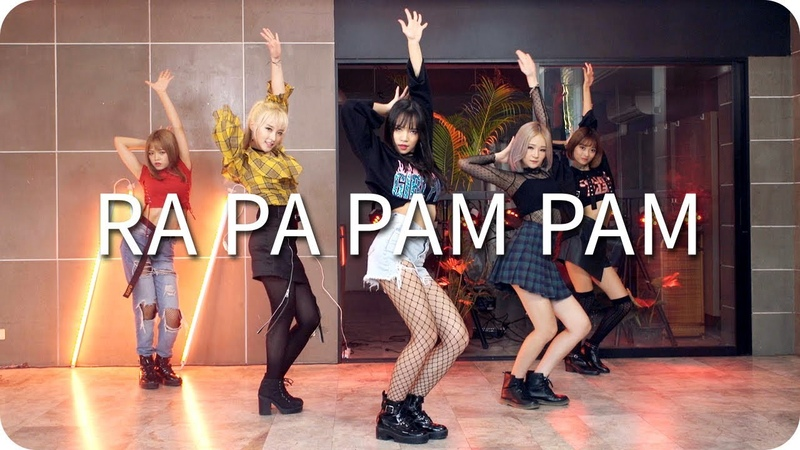 Rose Quartz(로즈쿼츠) - Ra Pa Pam Pam(Thai Ver.) Dance Practice Moving Version
