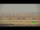 Видеокадры с сирийско-иорданской границы после восстановления контроля Сирийской армией над пограничным переходом Насиб