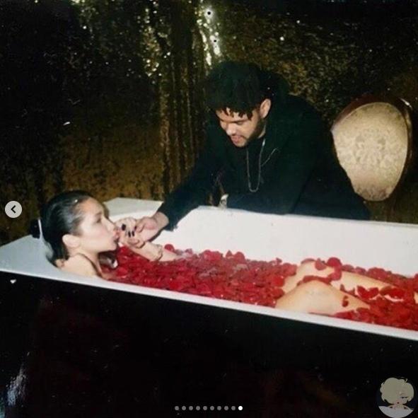 The Weeknd трогательно поздравил Беллу Хадид с днем рождения