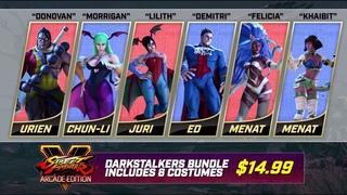 Street Fighter V: Arcade Edition - Darkstalkers Bundle