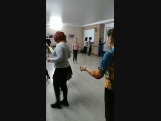 Снежное Танго урок женских техник с Катей Коптеловой