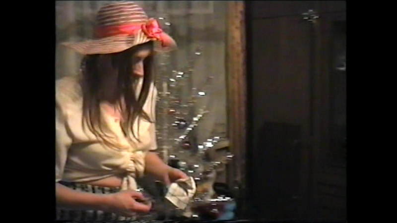 Встречаем Новый 1996 год у Жуковых