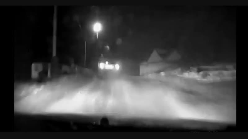В Полярном пьяный водитель пытался скрыться от полицейских