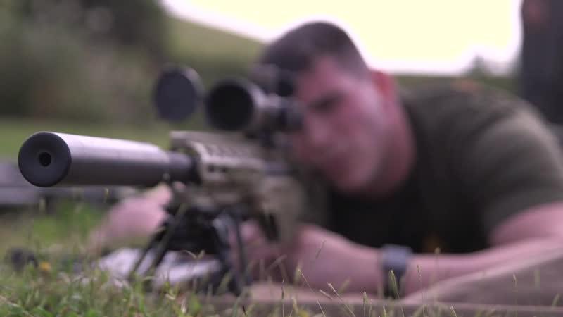The marksman observer specialized precision marksmanship CAMP HANSEN, OKINAWA, JAPAN 29.11.2018
