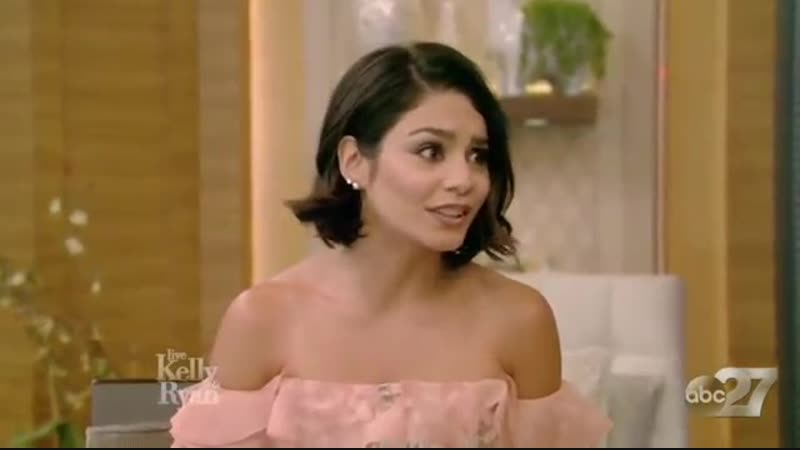 Vanessa Hudgens Complete Interview on Live with Kelly and Ryan guest co host Cat Deeley