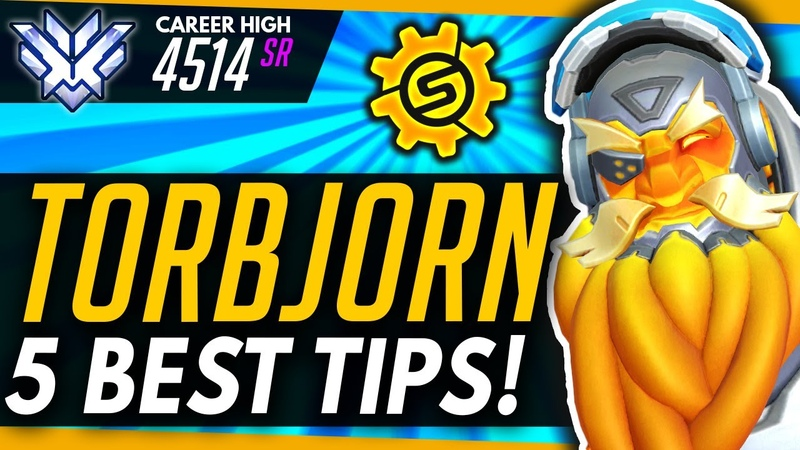 Overwatch | TORBJORN Top 5 Tips And MAJOR Mistakes To Avoid! (ft Fuey)