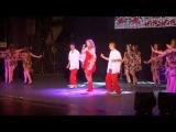 Kristina Severina and Spektor dancing.Red sea joys 2013