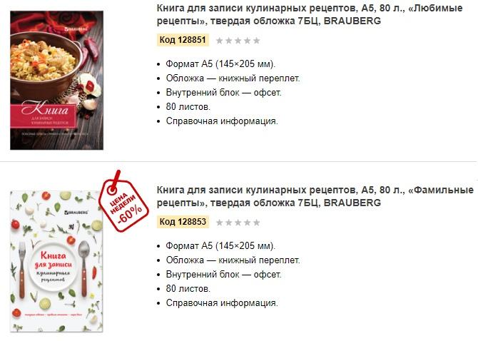Разновидности книг для записи кулинарных рецептов. Зачем нужны кулинарные книги.