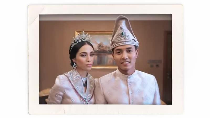 Свадьба Принца Паханга Абу Бакар Ахмада и Принцессы Иман Афзан 24 августа 2018 г