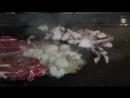 Beef, Octopus, Shrimp Steak _ Korean Street Food _ Jeonju Hanok Viliage, Jeonju