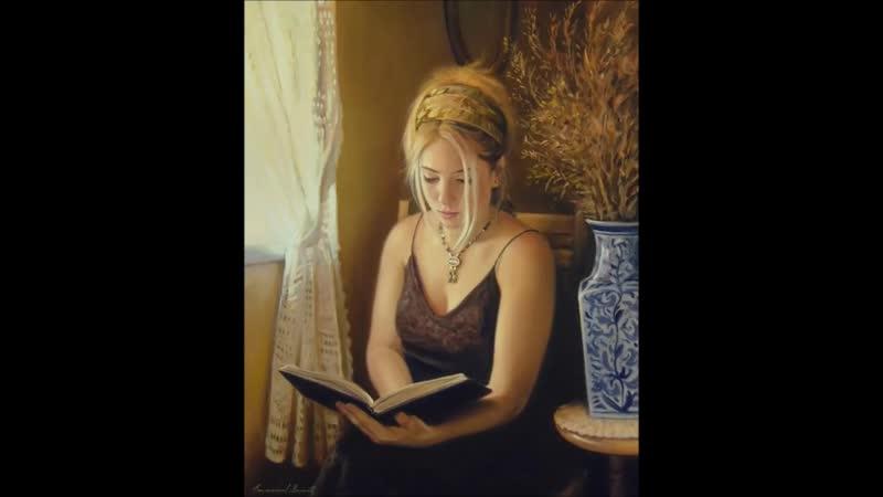 Emmanuel Garant (1953) Canadian painter ✽ Richard Abel _ Je Pense a Toi