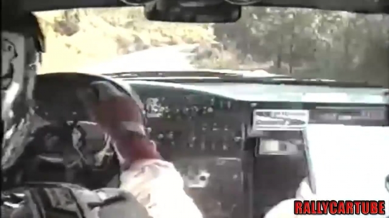 JuhaKankkunen - Nicky Grist (Onboard Pure Sound) With his Toyota Celica GT-Four (ST205) at Sanremo Rally 1994 (Maximum Attac