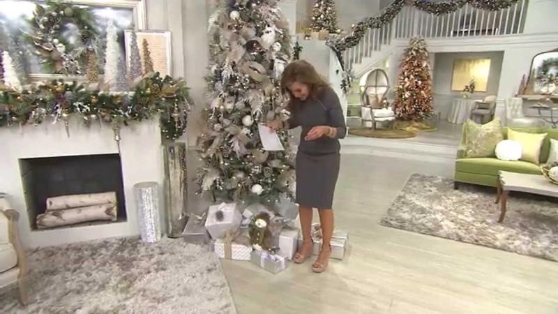 Set of 12 Sparkling Cedar Decorative Picks with Lisa Robertson