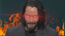 Keanu Reeves uses 10% of his power