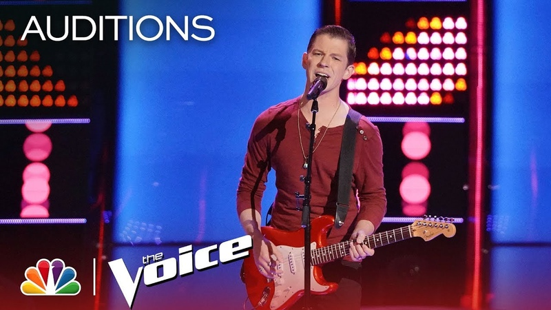 Michael Lee Shocks with B B King's The Thrill Is Gone The Voice 2018 Blind Auditions