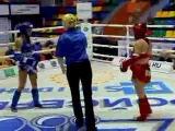 ЧР по тайскому боксу 2013.  Финал женщины