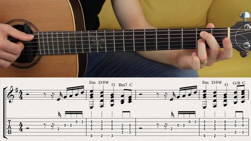 Chords that Sound like A melody E minor | Chord Melody in E minor