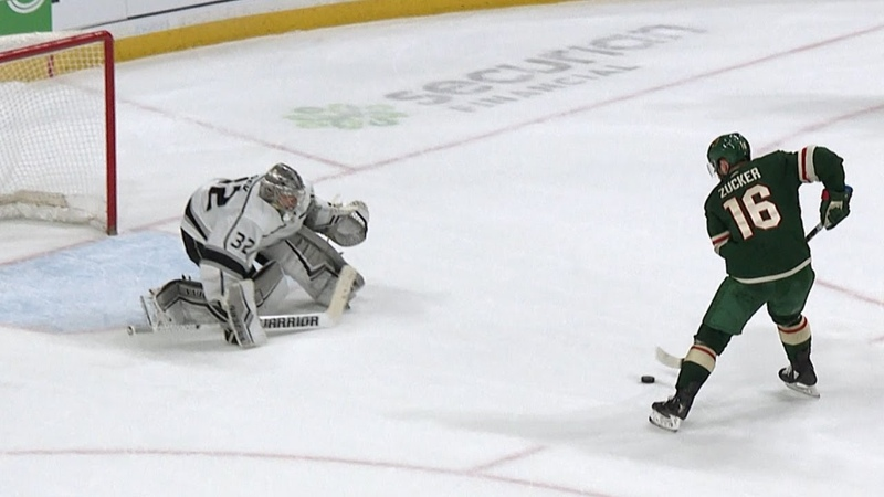 Kings and Wild battle for the win in a shootout