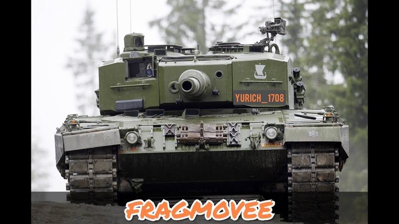 ФРАГИ на Leopard 2A4, Leopard 2K и XM-1