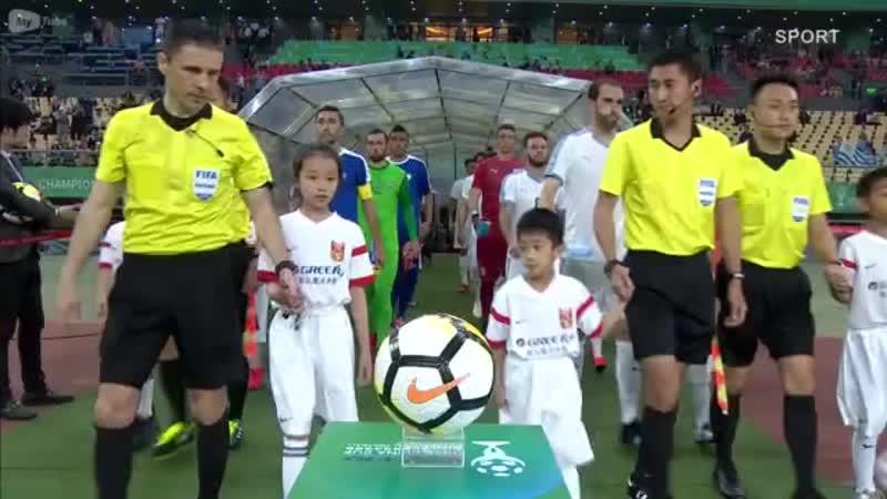 🇺🇿O'zbekiston 0 3 Urugvay🇺🇾 China Cup 2019 Yarim final Barcha gollar va xavfli vaziyatlar