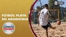 El fútbol playa en Argentina