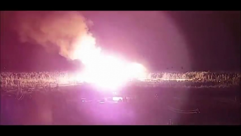 Ликвидация последствий газопроявления с возгоранием на скв1825 кустовой площадки № 50 на Ван Еганском м р