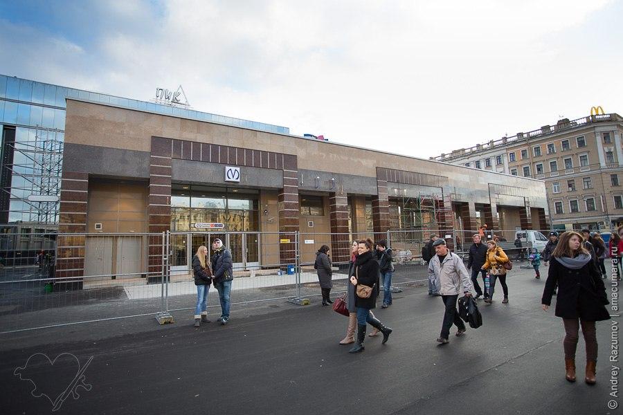 метро Спасская выход