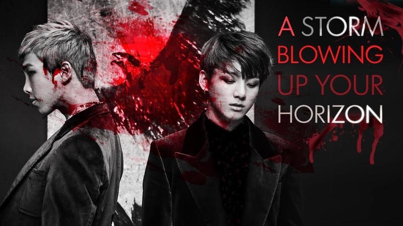 BTS ○ Serial Killer!AU ○ Fanfic Trailer [A Storm Blowing Up Your Horizon]
