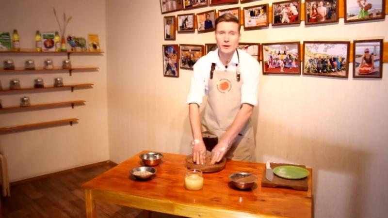 Приготовление шоколадной халвы