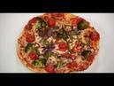 Пицца с брокколи 7 нот вегетарианской кухни