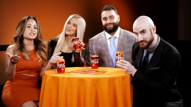 Rusev Day pick their favorite classic tag teams WWE and Orange Vanilla Coke Perfect Pairings
