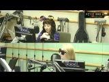 [РАДИО] 140530 DJ Сандара Пак на радио шоу KBS Volume Up c CL (1)