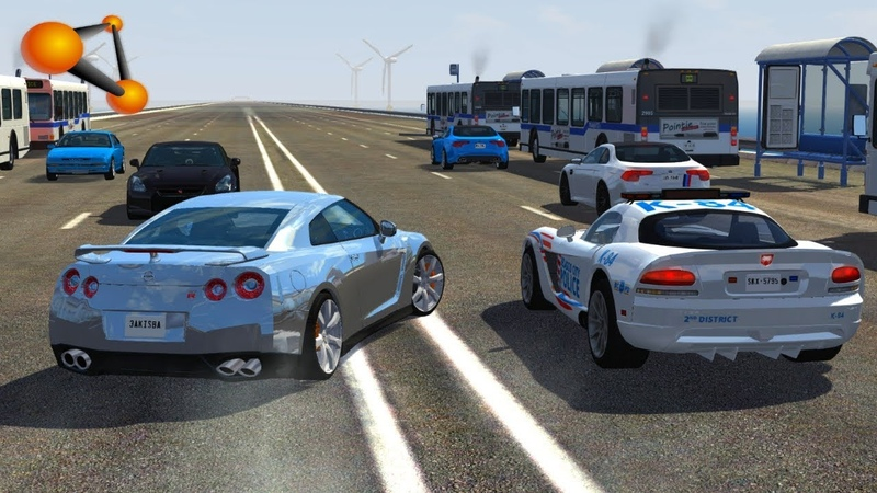 BeamNG.drive - High Speed Loss of Control Crashes 2